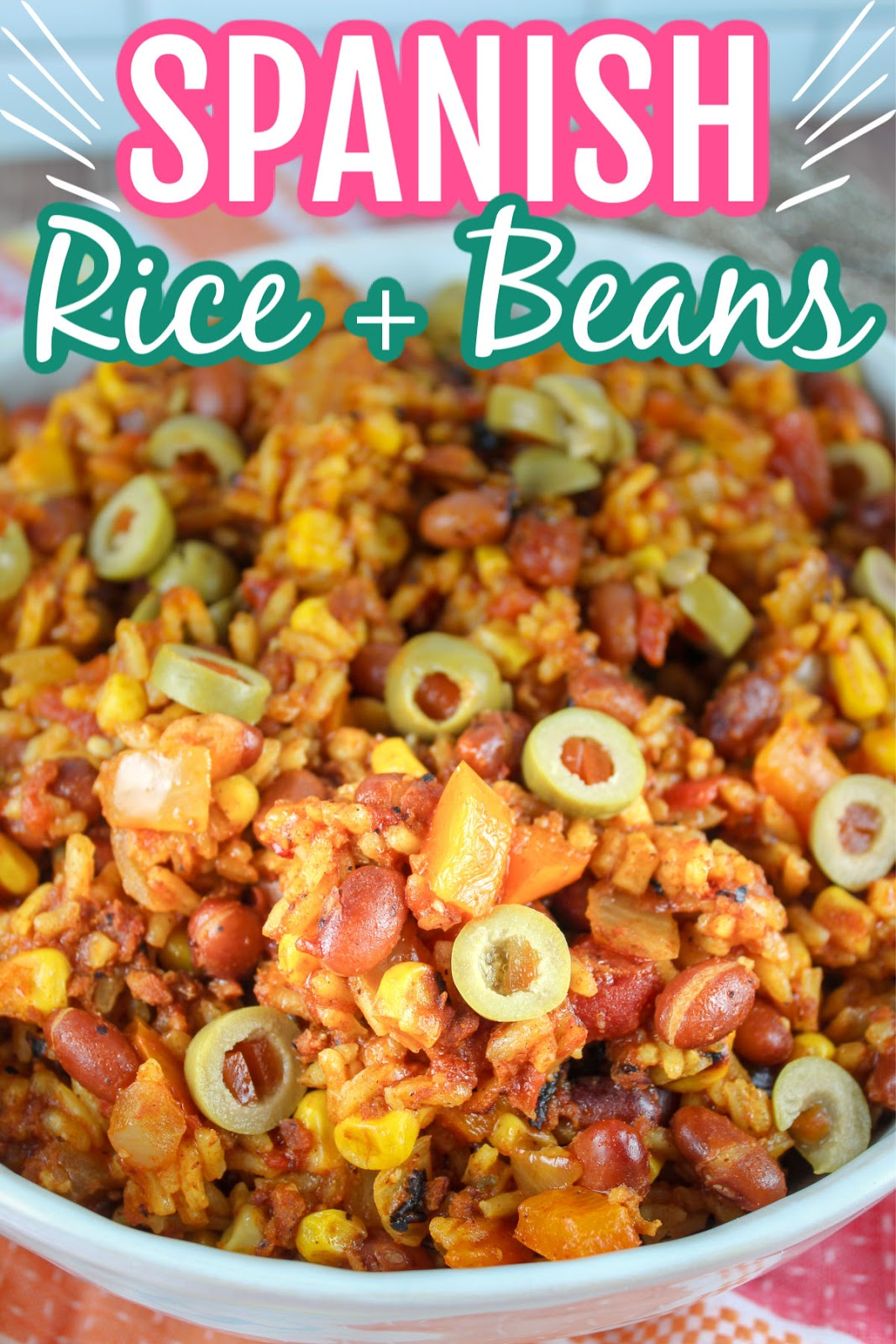 One Pot Spanish Rice And Beans The Food Hussy