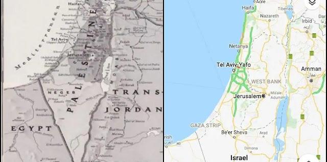 Hapus Palestina dari Peta, Google dan Apple Diamuk Warganet