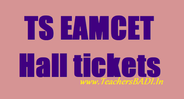 TS EAMCET Hall Tickets,Telangana EAMCET hall tickets,www.eamcet.tsche.ac.in