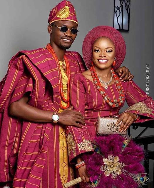 Latest Yoruba Traditional Wedding Attire