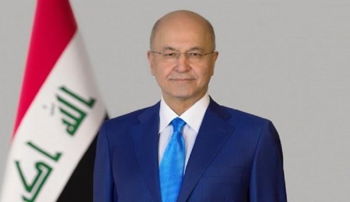 رئيس الجمهورية يغرد حول وفاة لميعة عباس عمارة