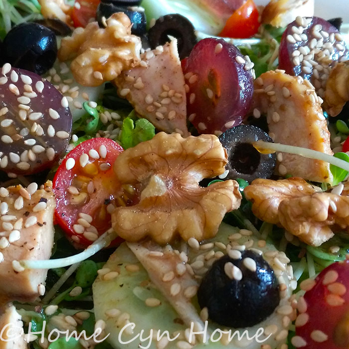 One of the 6 steps to the perfect salad is to add something crunchy or nutty to it.