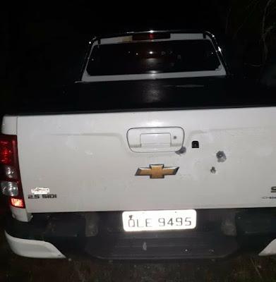 Prefeito de Ouro Branco/AL sofre atentado a  bala