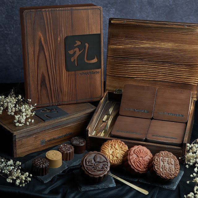 Awfully Chocolate mooncakes