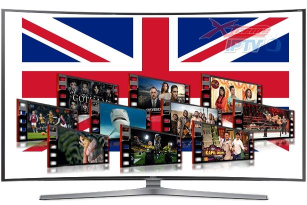 UK / England / English IPTV Channels m3u Playlist Download 25-Aug