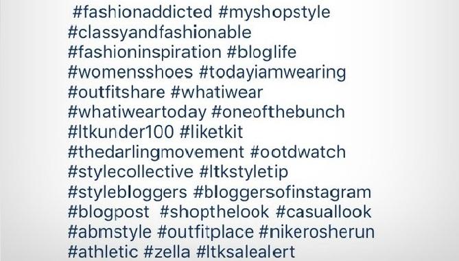 Hashtag pada Instagram