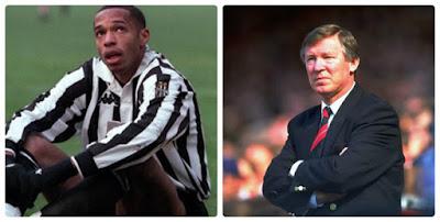 Huyền thoại Arsenal Thierry Henry muốn đến MU, bị Sir Alex xử phũ 2