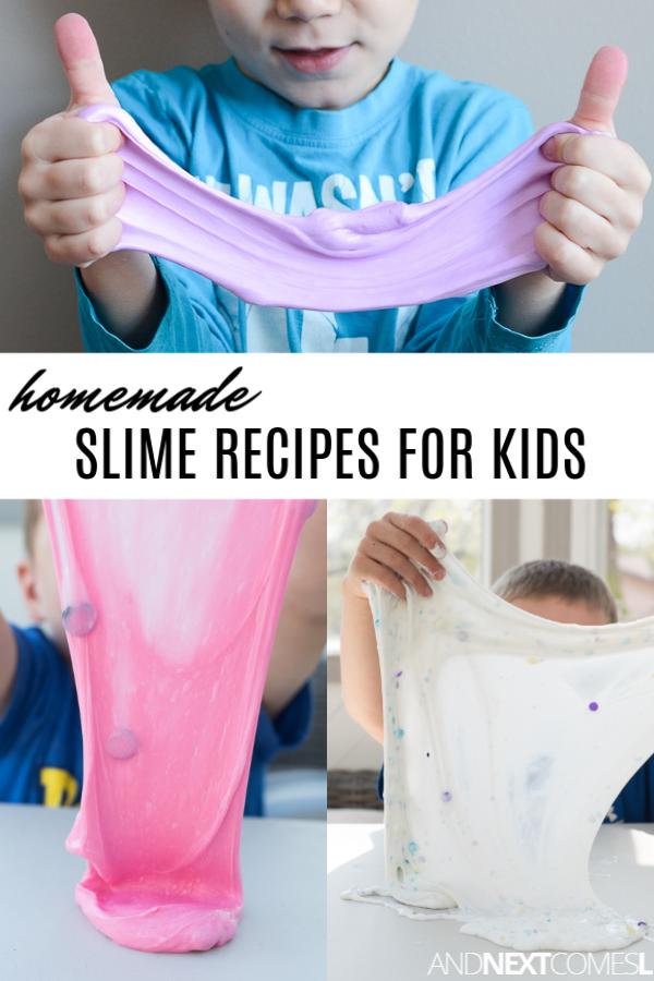 Slime recipes for kids