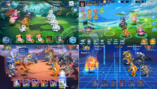 Digital world digimon apk data full Android release
