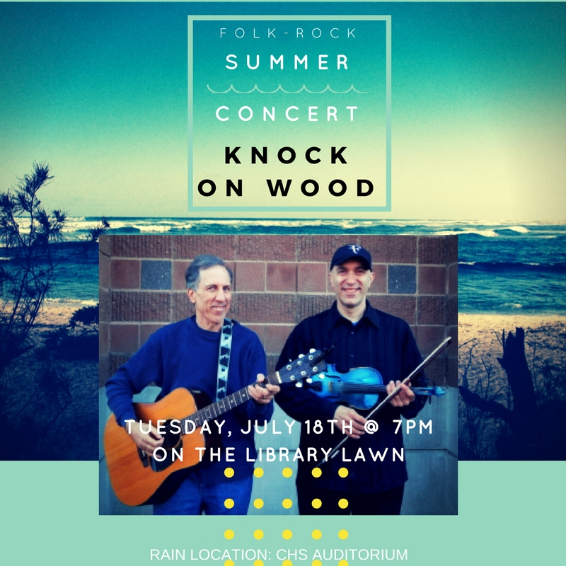 Summer Music Concert 2017: Tuesday Night Concert On The Library Lawn, July 18, 2017