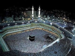 Gambar Tawaf Kabah Animasi Bergerak Masjidil Haram Haji