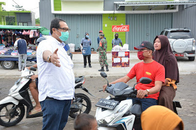 Puskesmas Tigaraksa Gelar Rapid Test Massal di Perumahan Sudirman