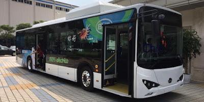 bus eléctrico transantiago