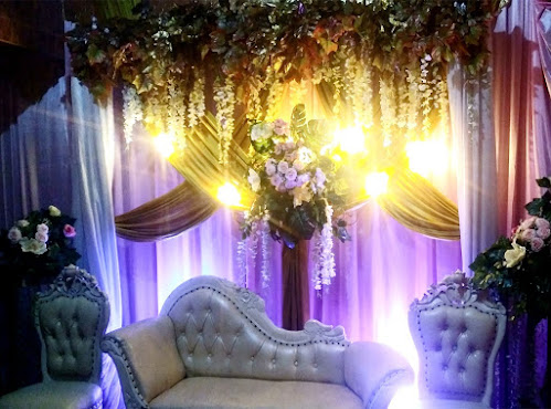 Backdrop untuk lamaran maupun akad nikah di rumah