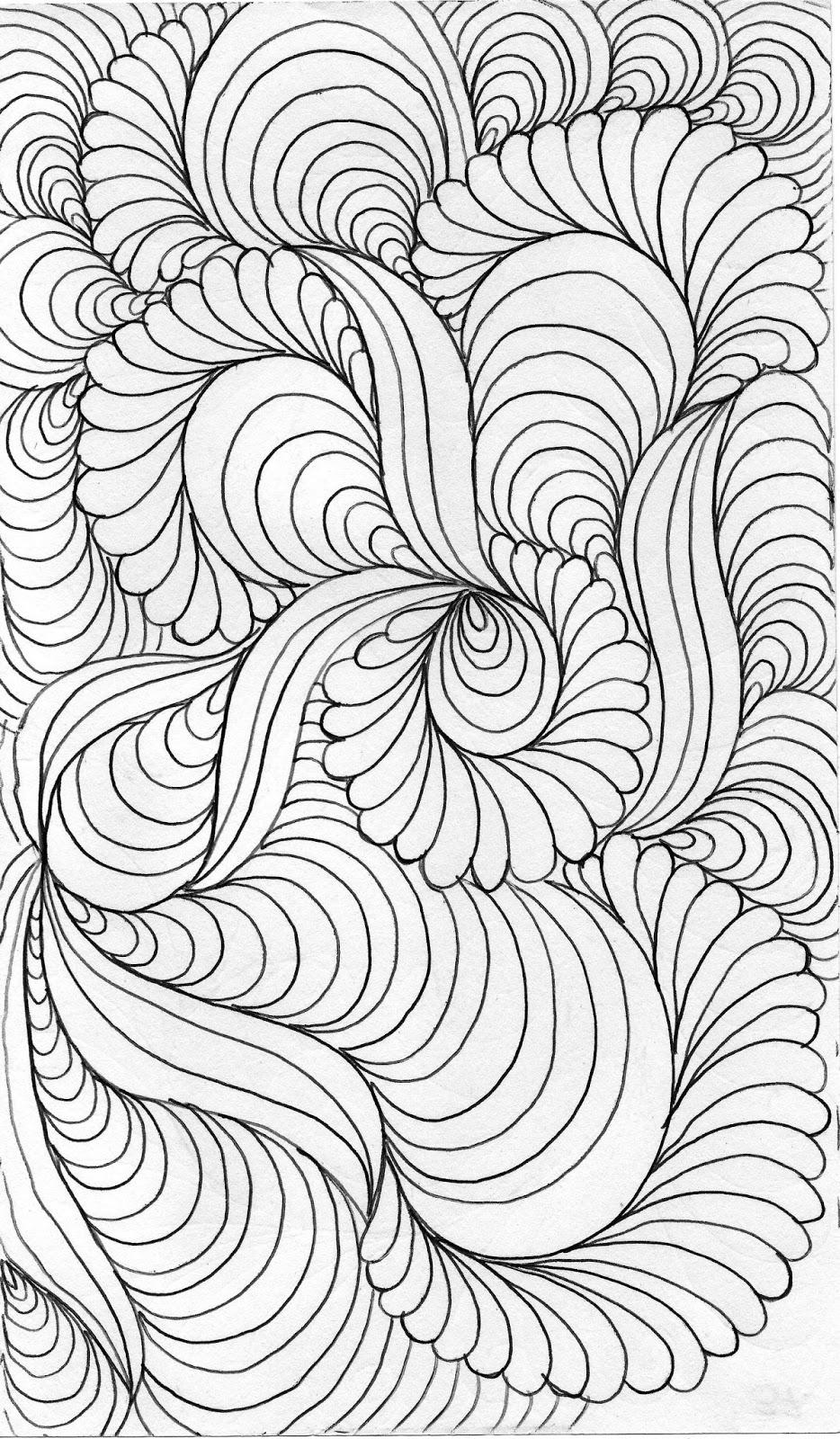 LuAnn Kessi Quilting Sketch BookBackground Fill