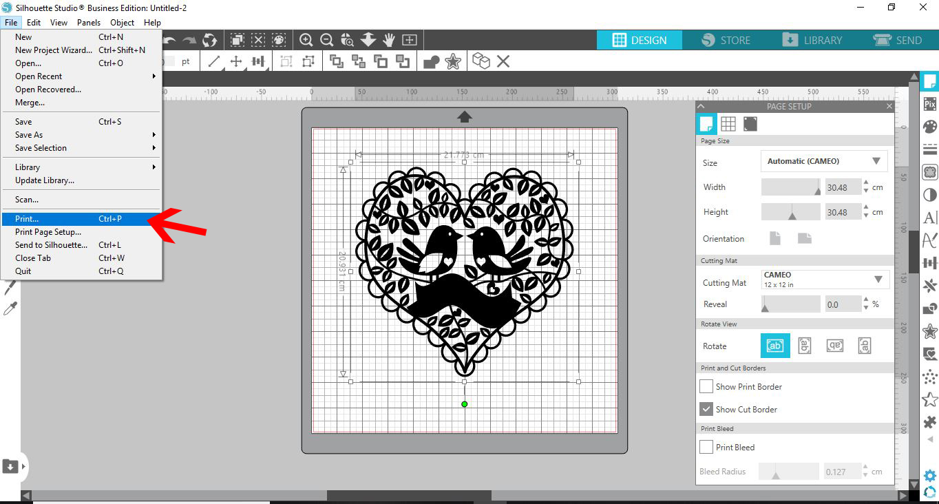 Saving a Silhouette File as PDF to open in Photoshop | Design Bundles