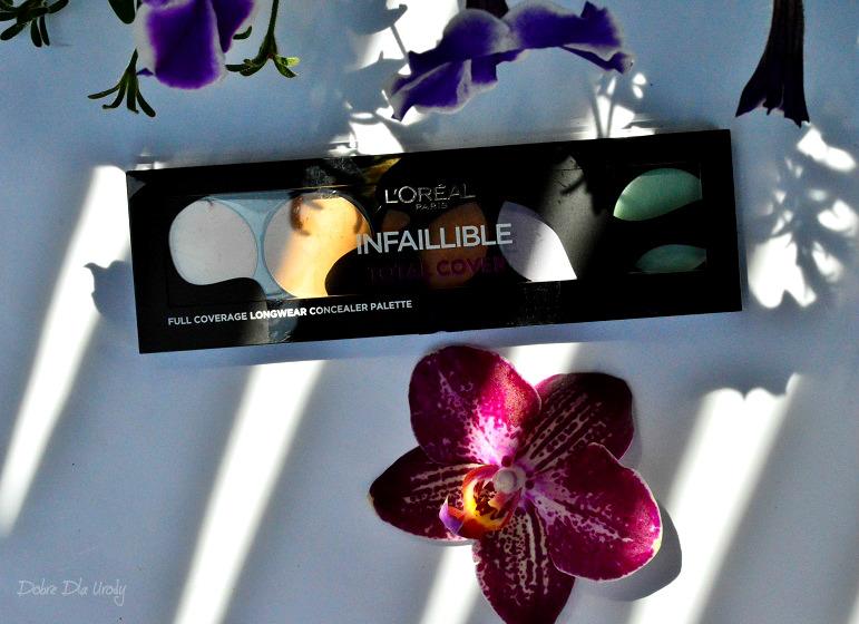 Paletka korektorów L'oreal Paris Infallible Total Cover Palette - długotrwałe krycie bez efektu maski