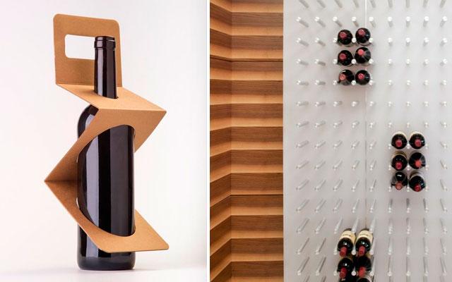 Marzua el dise o interior en las vinotecas gusto y estilo - Vinotecas de madera ...