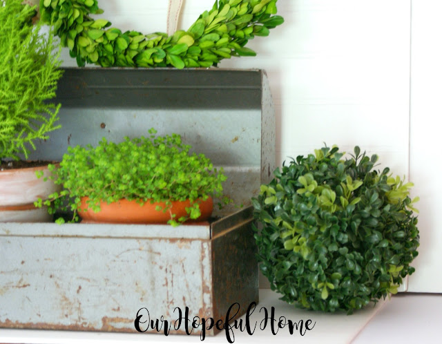 vintage craftsman toolbox upcycle planter