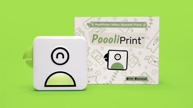PoooliPrinter L1 inkless pocket printer