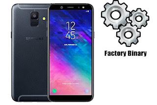 Samsung Galaxy A6 2018 SM-A600F Combination Firmware