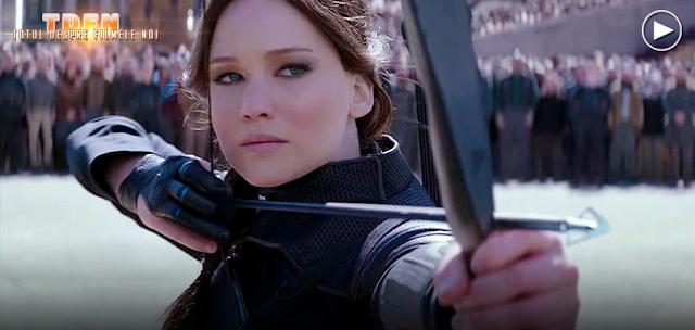 Katniss Everdeen şi prieteni ei, se pregătesc de confruntarea finală cu preşedintele Snow