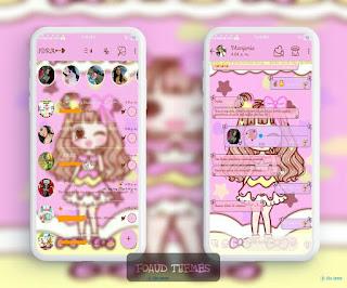 Anime Girls Theme For YOWhatsApp & Fouad WhatsApp By Leidiane