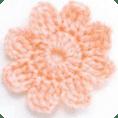 Flor Fácil a crochet