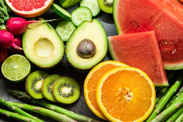 Take lots of fruits and vegetables