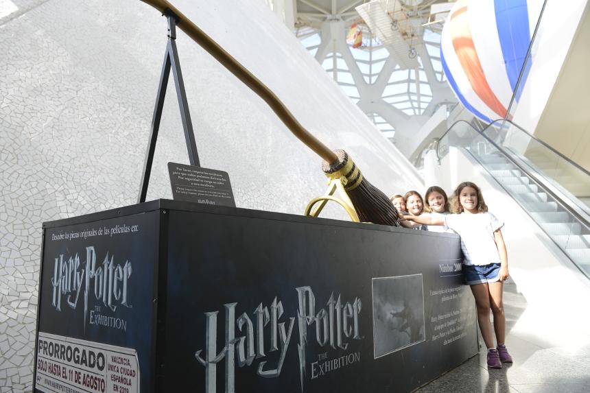 Últimos días para visitar 'Harry Potter: The Exhibition' en el Museu de les Ciències