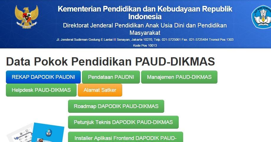 Aplikasi Dapodik Paud Dikmas V 2 0 0 Link Download Beserta Alternatif Downloadnya Gr Zone