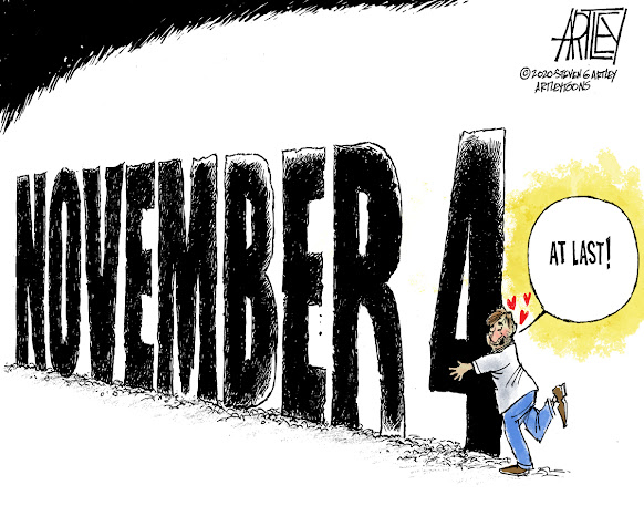 Editorial Cartoon by Steve Artley
