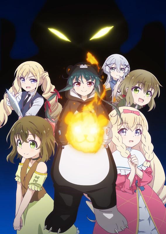 Anime Kuma Kuma Kuma Bear, nuevo póster