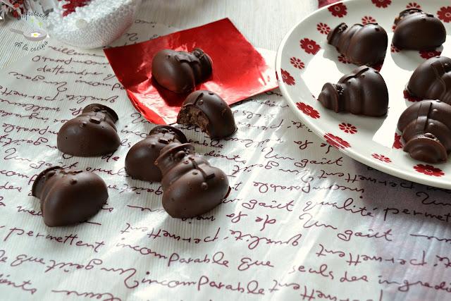 Turrón de chocolate y praliné de almendras