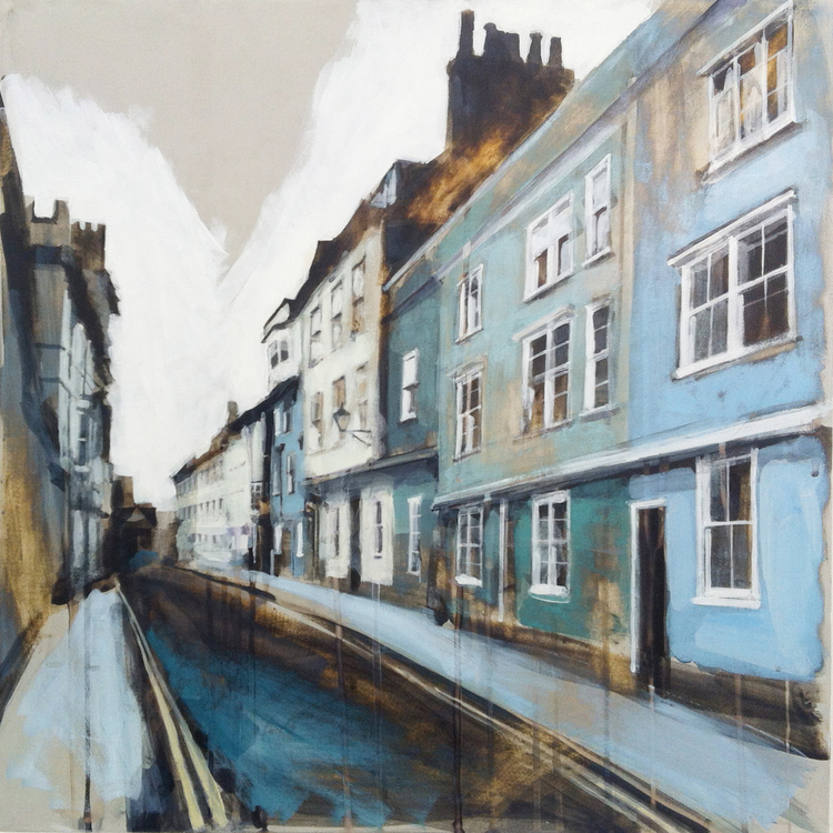 09-Ship-Street-Oxford-Camilla-Dowse-Soothing-Architectural-Acrylic-Paintings-www-designstack-co