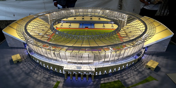 Stadion Yekaterinburg