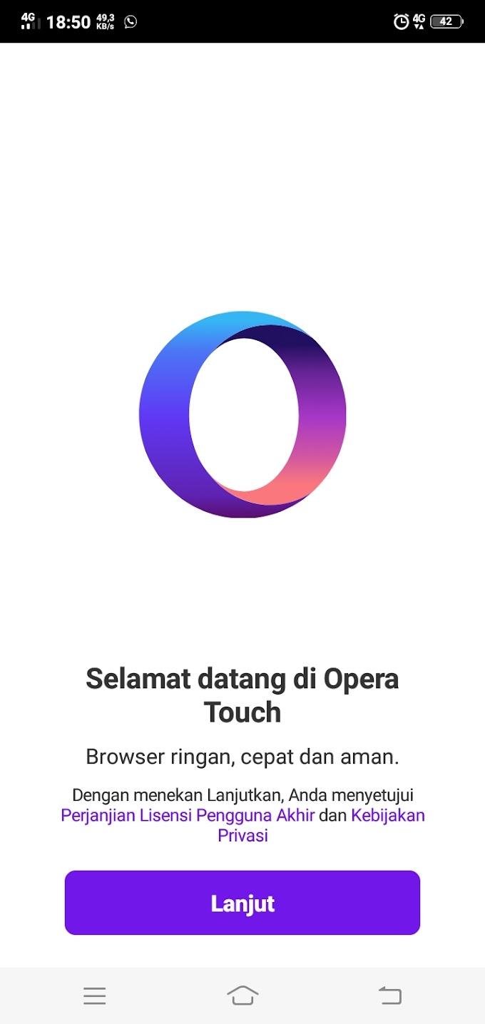 Opera Touch dan 11 Fitur Keren