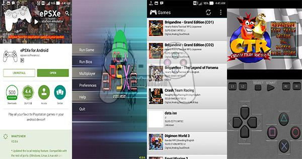 Cara Main Game PS1 Di Android Menggunakan ePSXe