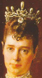 Empress Maria Feodorovna of Russia Pearl Wave Tiara