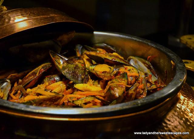 seafood in Movenpick Ibn Battuta brunch