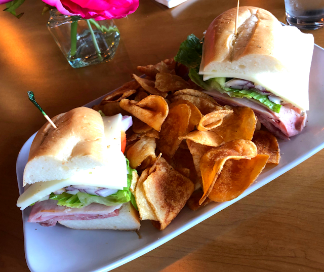 Quality ingredients make the sandwich at Grace in Yorkville.