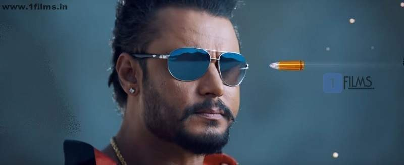 Darshan dodging a bullet Jaggu Dada Kannada Movie