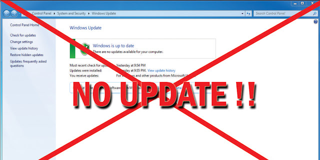Menonaktifkan Update di Windows
