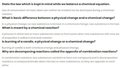 NCERT Solutions for class 10th Science Chapter 1