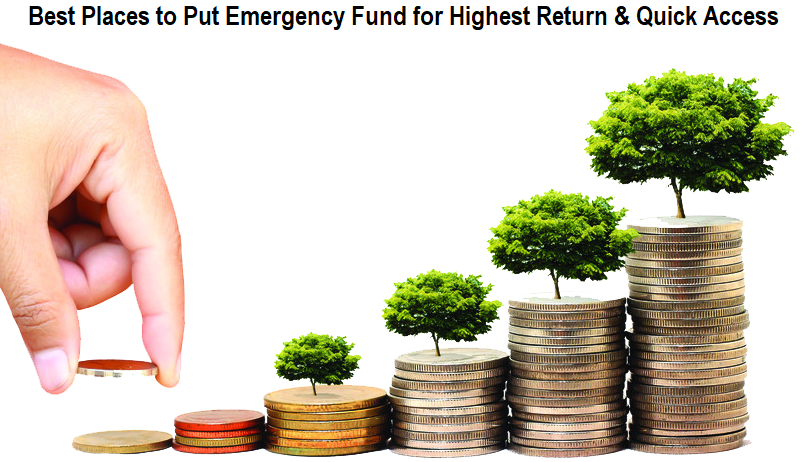 Best Places to Put Emergency Fund