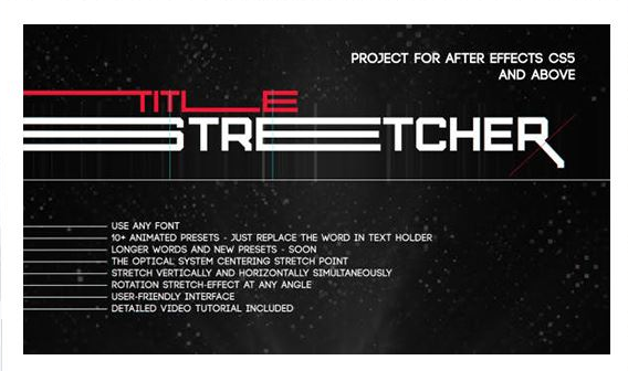 Projects - VideoHive - Stretcher - 16602597 [AEP, FFX]
