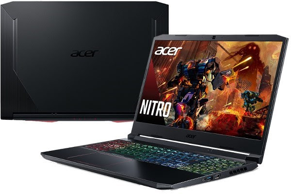 Laptop Acer Nitro 5 AN515 55 5206 i5/10300H/8GB/512GB/144Hz/4GB GTX1650Ti/Win10