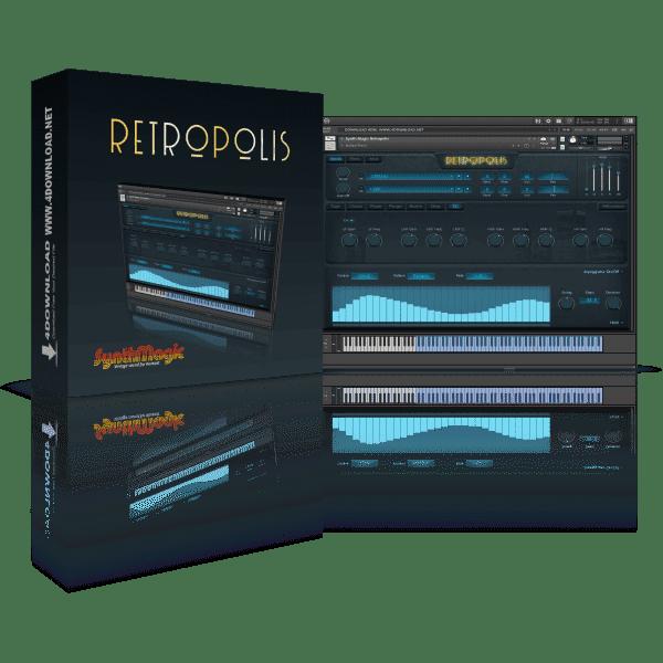 Synth Magic Retropolis KONTAKT Library