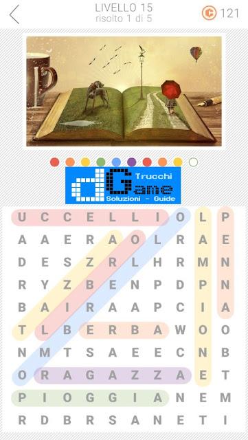 10x10 Crucipuzzle soluzione pacchetto 15 livelli (1-5)