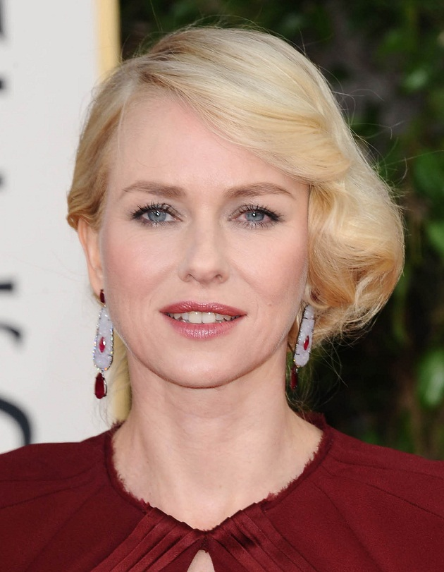 Naomi Watts - Celebrity Earrings Trend 2013